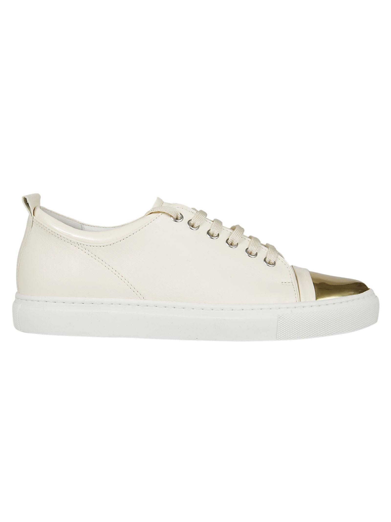 Lanvin Chaussures De Tennis Texturé - Rose Et Violet JDVlP2t5