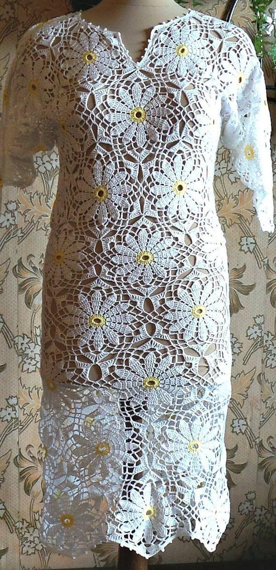 Crochet dress, crochet beach dress, crochet clothing, cotton dress, organic clothing, crochet fashion, handmade dress, crochet stylе #crochetbeachdress