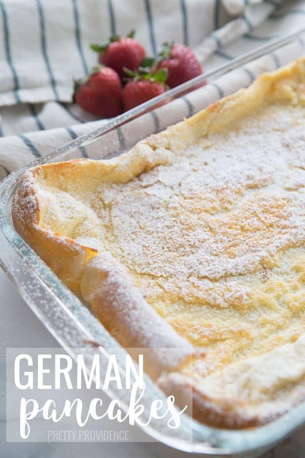 German Pancakes images
