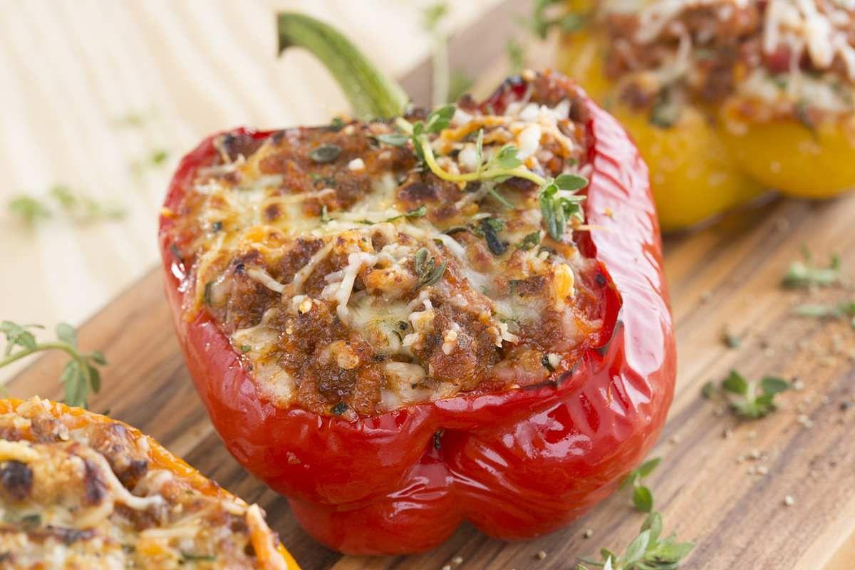 27+ Einfache gefuellte paprika mit hackfleisch Sammlung