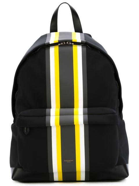 26acaa425656 Givenchy Colour Block Stripe Backpack - - Farfetch.com