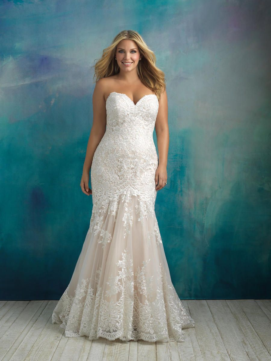 Allure Women #W410. In stock now at Prom USA. | In Stock Bridal ...