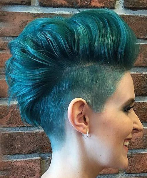 Short Punk Hairstyles Gorgeous 20 Classy Punk Hairstyles For Womentop Punk Hairstyle For Women