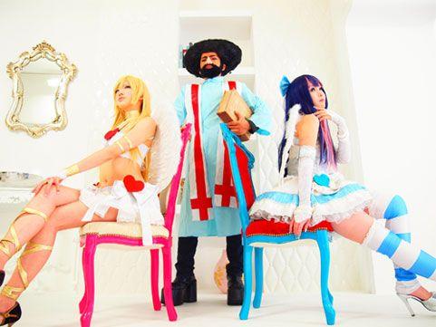 e372436f971 Panty   Stocking with Garterbelt cosplay