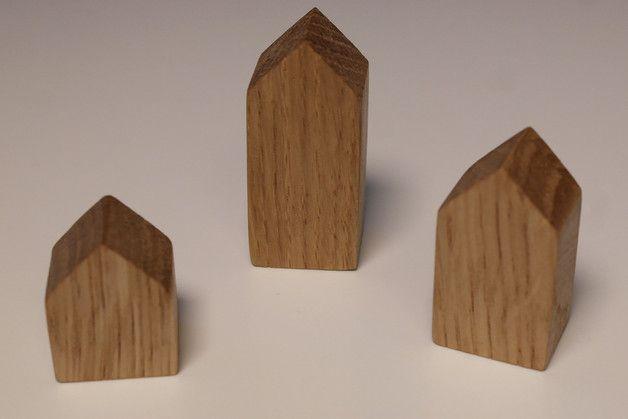 Kühlschrankmagnete Set : Magnetholz magnete kühlschrankmagnete im 3er set aus eichenholz