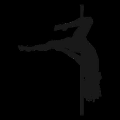 Download Gemini pole dance silhouette #AD , #spon, #spon, #pole, # ...