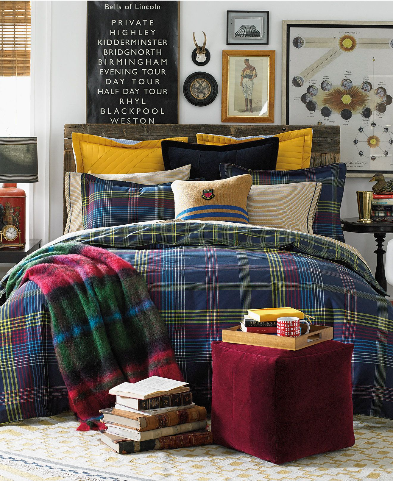 Tommy Hilfiger Glasgow Comforter Sets Tommy Hilfiger Bed Bath