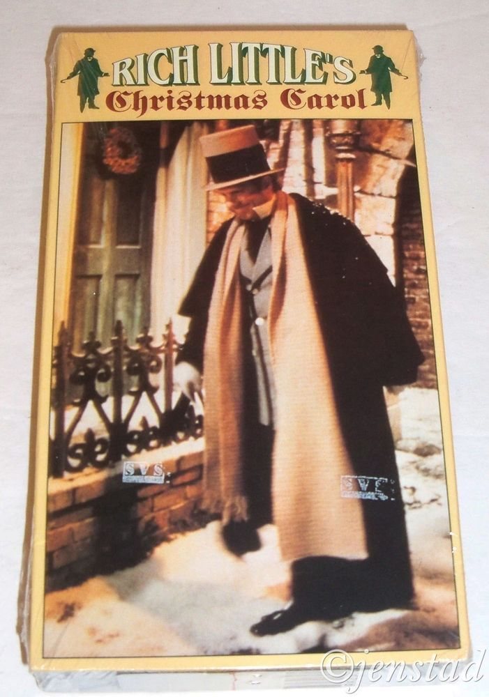 Rich Littles Christmas Carol (VHS, 1990) | Colors, Videos and ...