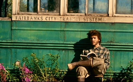 """The joy of life comes from our encounters with new experiences, and hence there is no greater joy than to have an endlessly changing horizon, for each day to have a new and different sun…""  ~ Jon Krakauer, ""Into the Wild"" (Photo: Emile Hirsch as Christopher McCandless in ""Into the Wild"")"