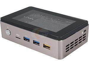 LIVA Core Mini PC/ Intel Broadwell Core M-5Y10C SOC/4GB DDR3L/120GB M.2 SSD/No OS