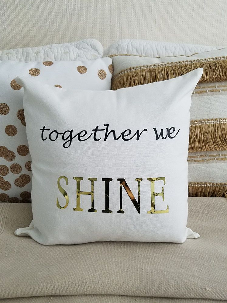 Making Pillow Covers Adorable How To Make A Custom Pillow Cover   Pinterest  Cricut Explore Air Inspiration Design