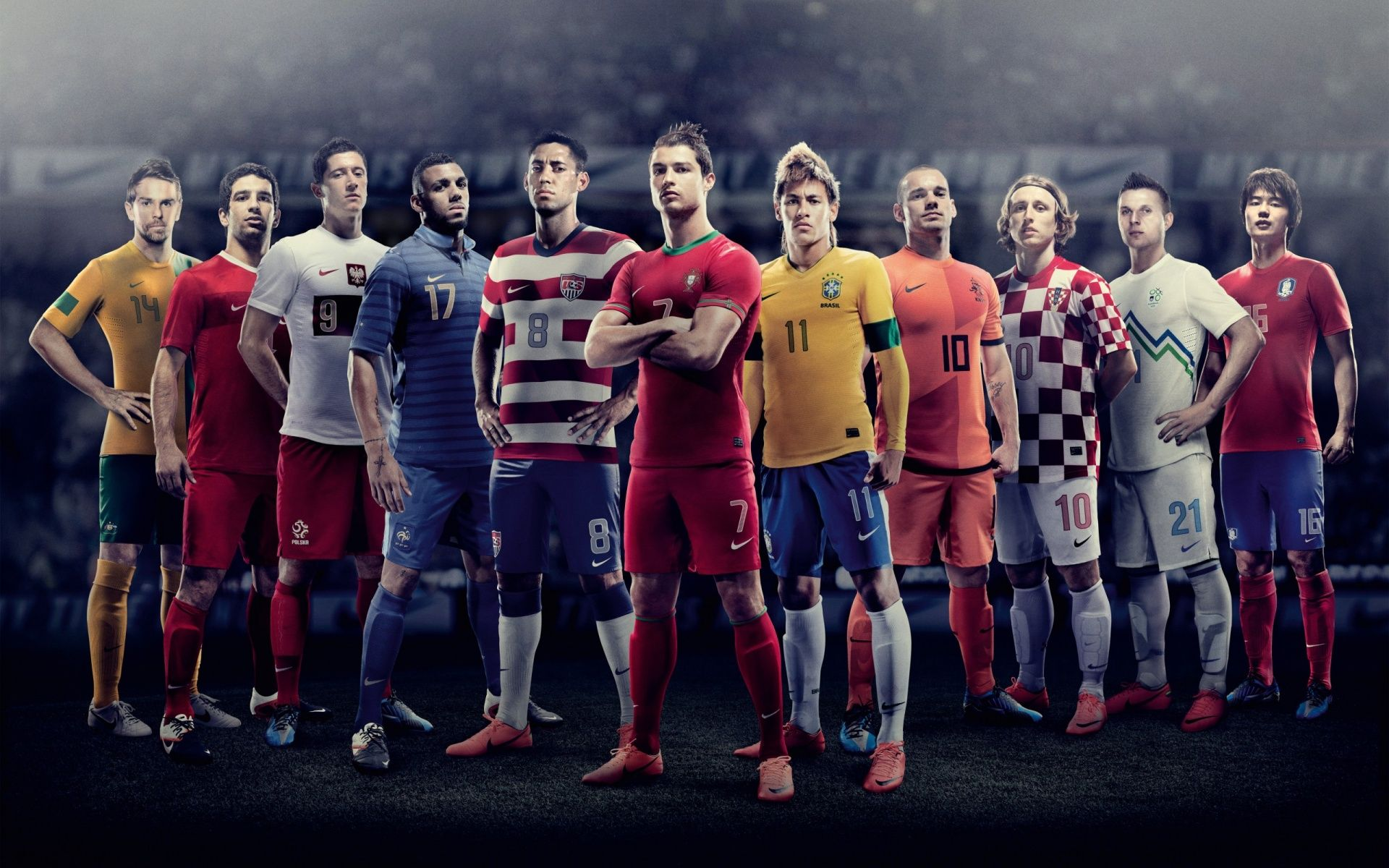 Football Players Hd Background 9 Hd Wallpapers Amagico Com Nike Football Football Soccer