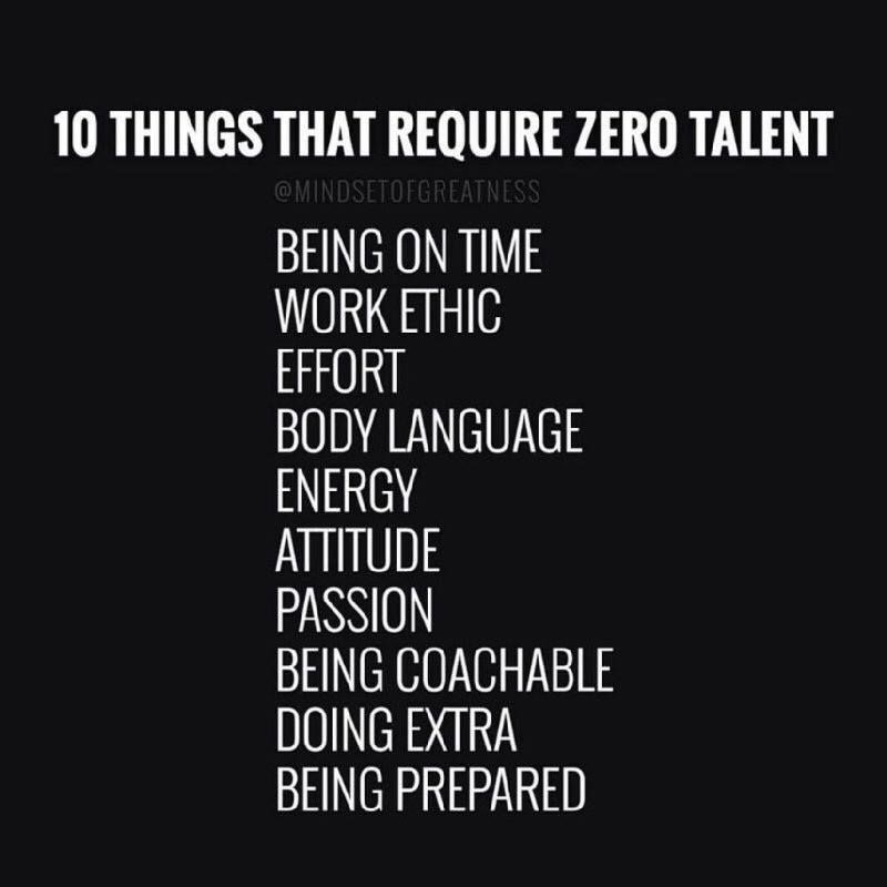 describe work ethic in your own words
