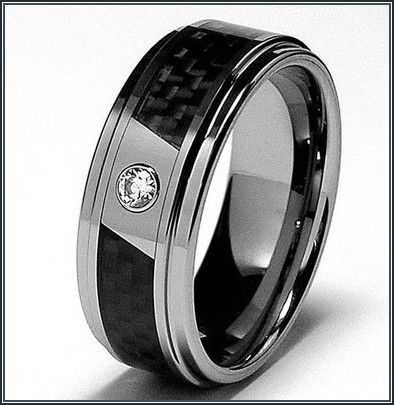 really good mens black wedding bands with black diamonds more design httparticleall - Mens Black Diamond Wedding Ring