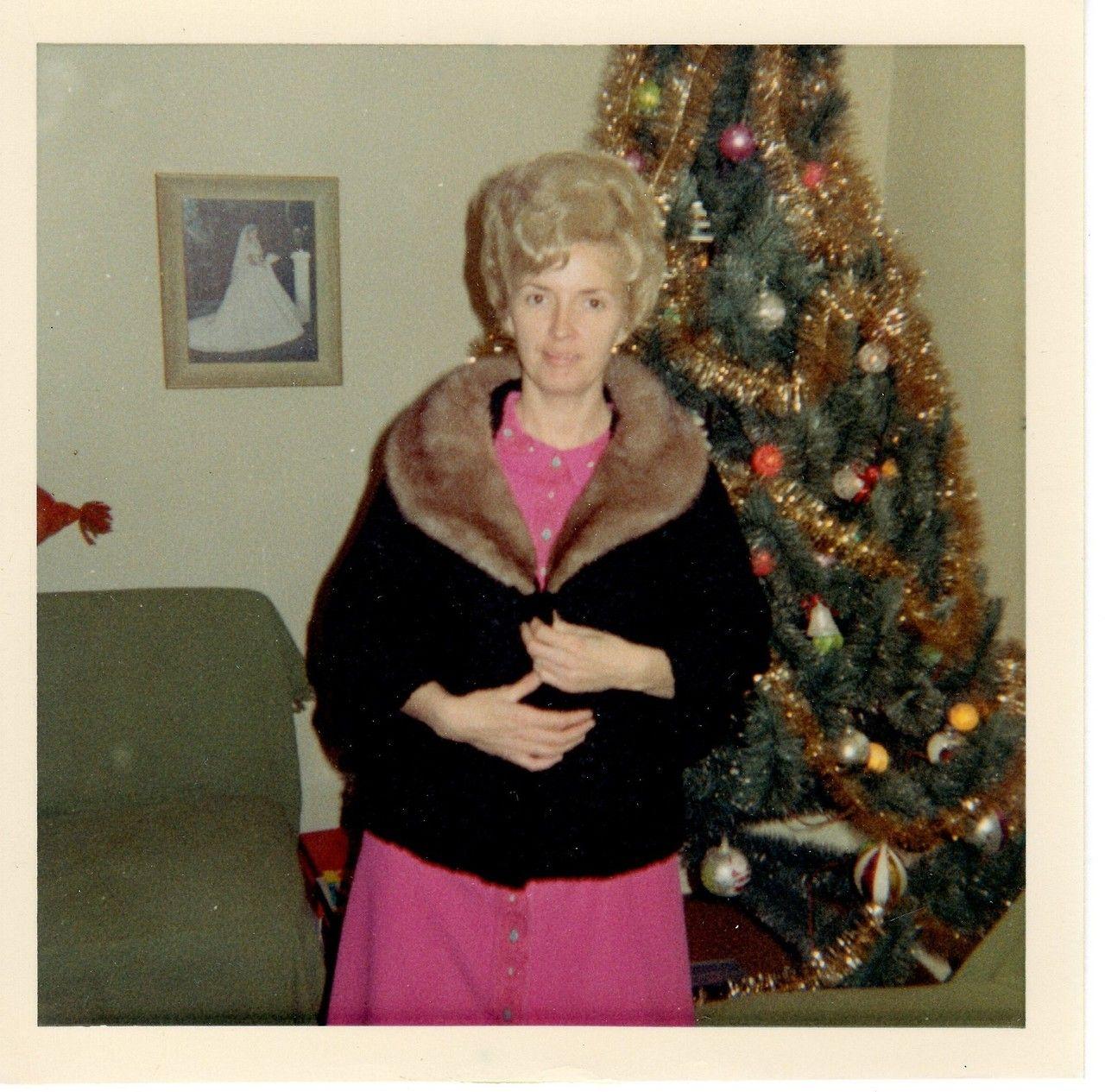 Santa got me a new fur coat! 1960s