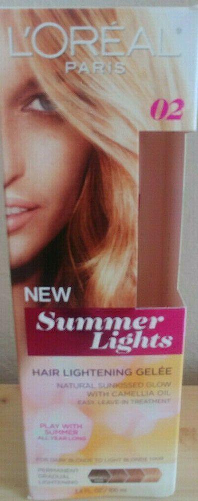 Lightening Camellia Loreal Summer Lights Blonde Paris Gelee Light Hair Dark 02loreal Paris Summer Lig How To Lighten Hair Loreal Paris Light Summer