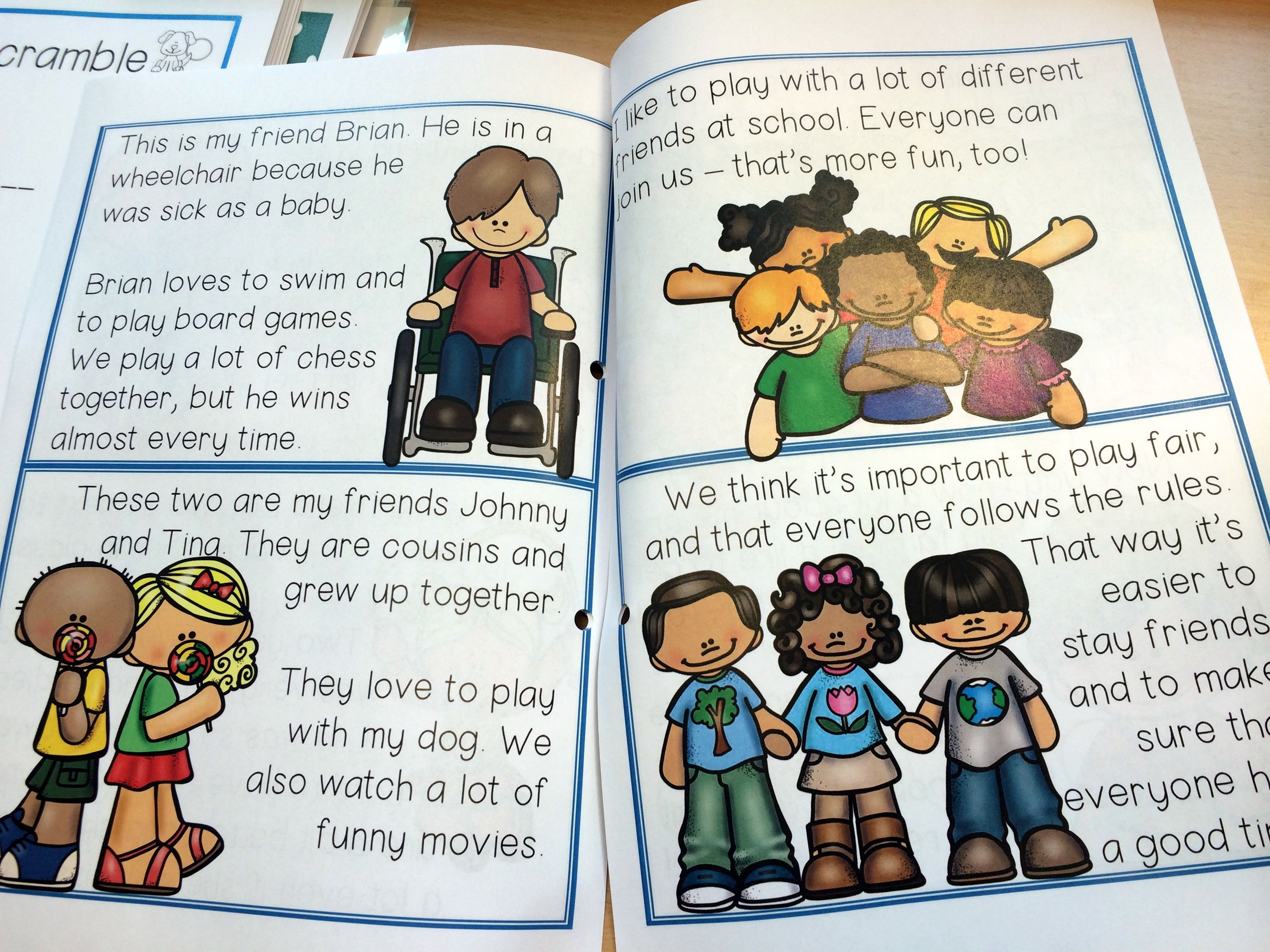 The Family Amp Friends Bundle Contains Vocabulary And