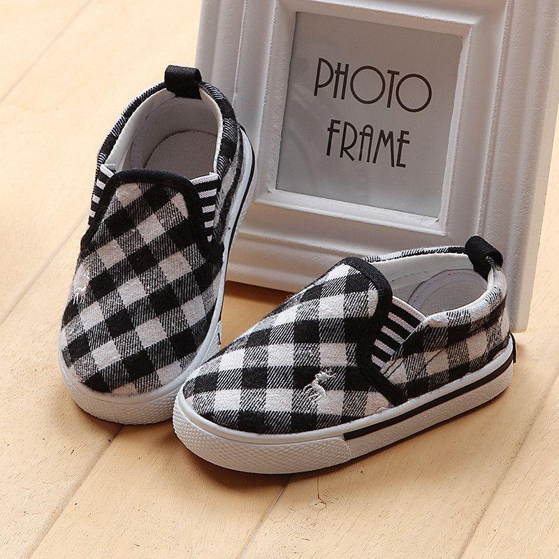 Children Causal Canvas Shoes
