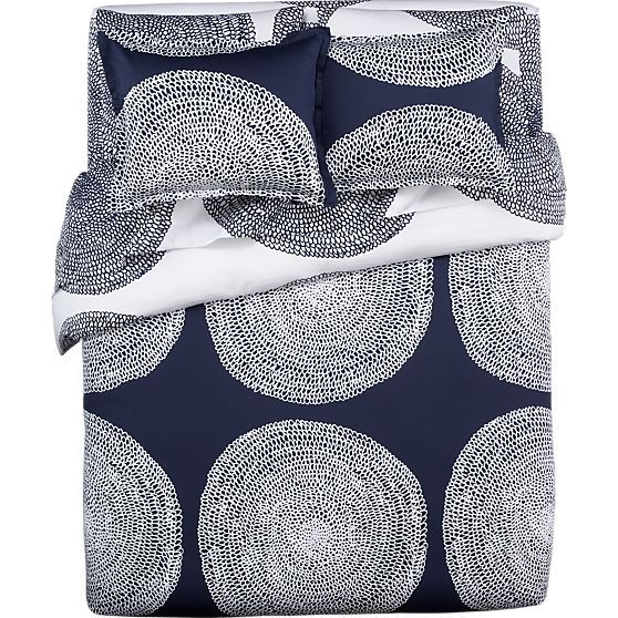 Pippurikera Navy King Duvet Cover In Duvet Covers Crate And Barrel Navy Bedding Bed Linen Sets Cute Duvet Covers