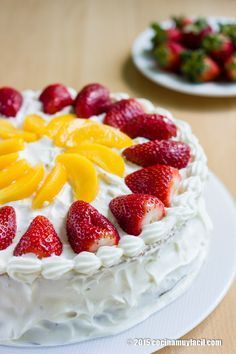 Pastel de tres leches. Receta   Cocina Muy Fácil   http://cocinamuyfacil.com