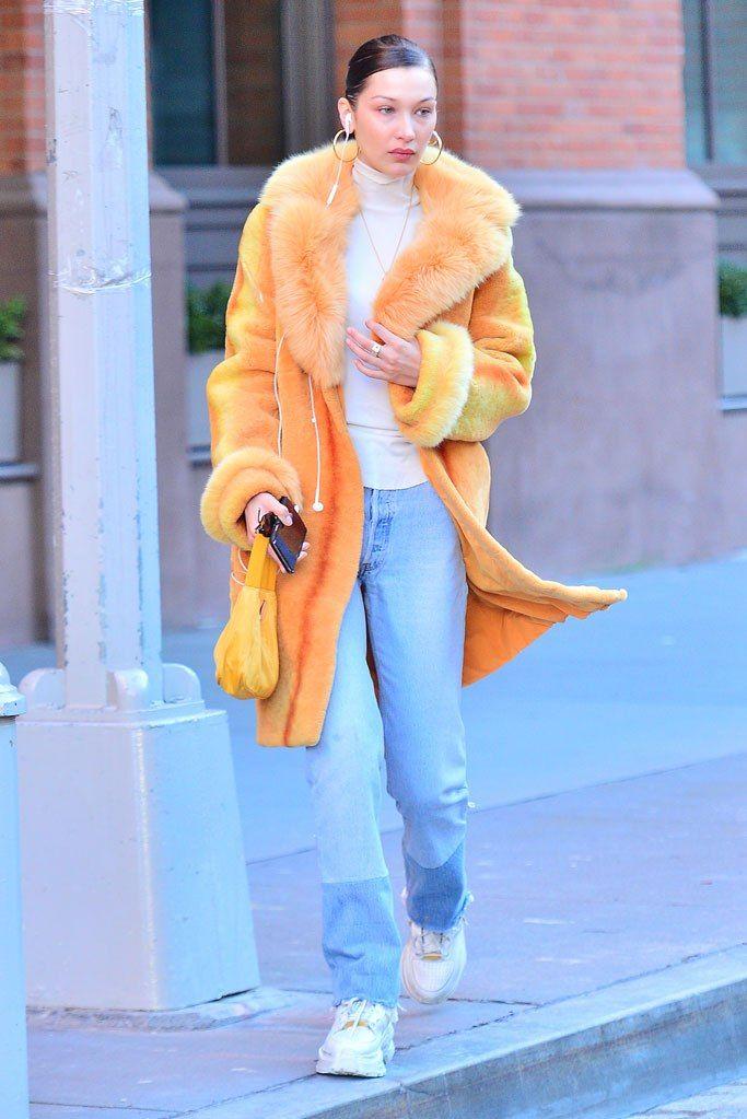 Bella Hadid's Street Style Evolution