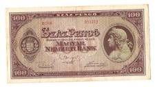 1945 Hungary Soviet Occupation 100 Pengo Banknote