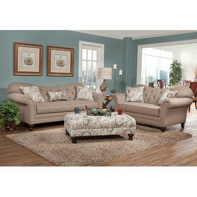 Ophelia Co Larrick 8 Piece Living Room Set Living Room Sets Living Room Collections Sofa And Loveseat Set