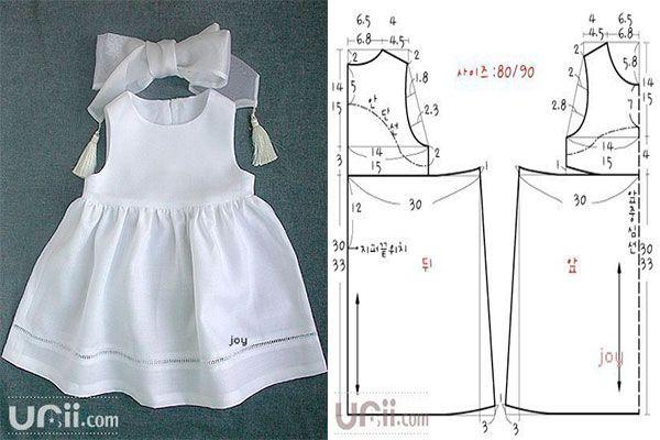 Molde Para Hacer Un Vestido Para Presentacion 1 Vestidos Para Presentacion Patrones Para Vestidos De Bebé Vestido Infantil