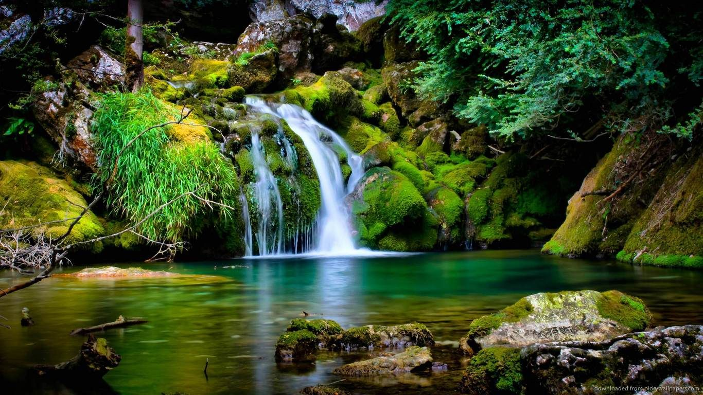 Nature Images A Sign Of Beauty Waterfall Wallpaper Beautiful