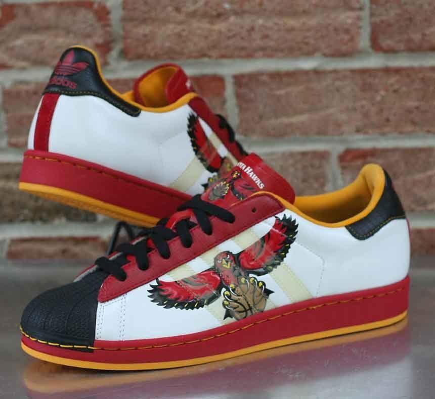 Adidas Superstar 1 Nba Series Atlanta Hawks 014170 Men S Shoes