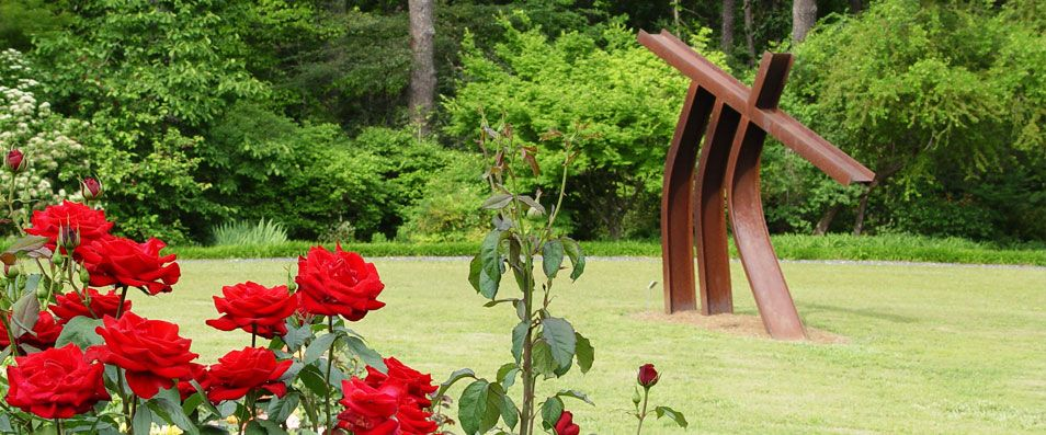 """Say """"I do"""" among the roses at the beautiful Smith Gilbert"""