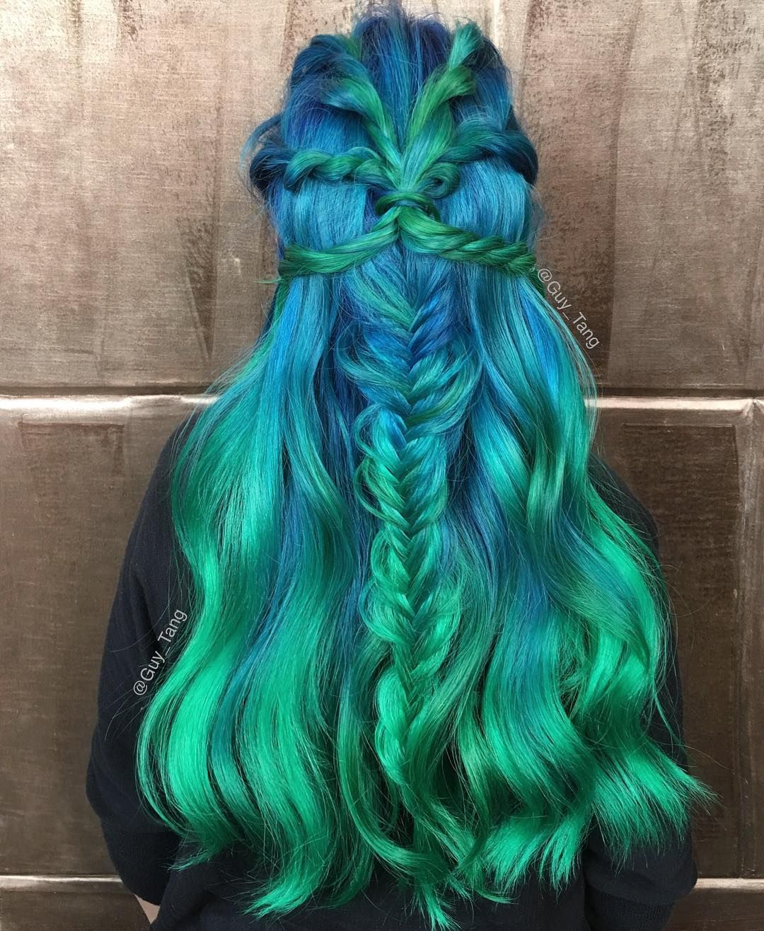 Mermaid Hair By Guy Tang Balayage Ombre Collection Pinterest