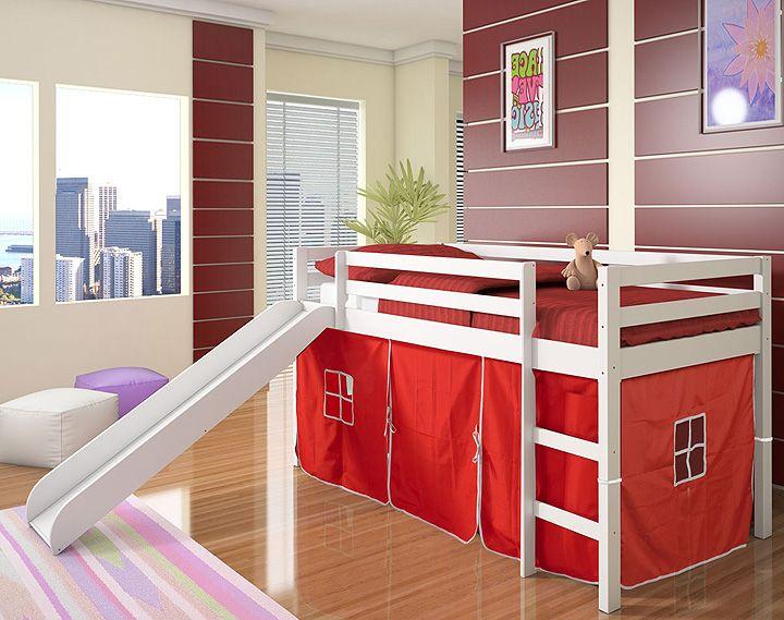 Etagenbett Zelt : Kinder schlafzimmer betten genial weißes holz etagenbett mit