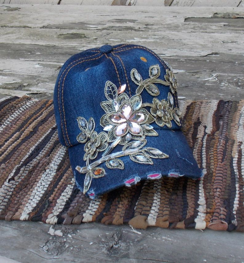 womens baseball hats with bling women cap embellished ladies caps