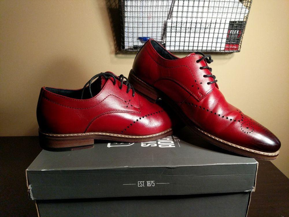 9979e6e8a7c8b Stacy Adams Men s Alaire Cranberry Wingtip Oxford SZ 9M  fashion  clothing   shoes