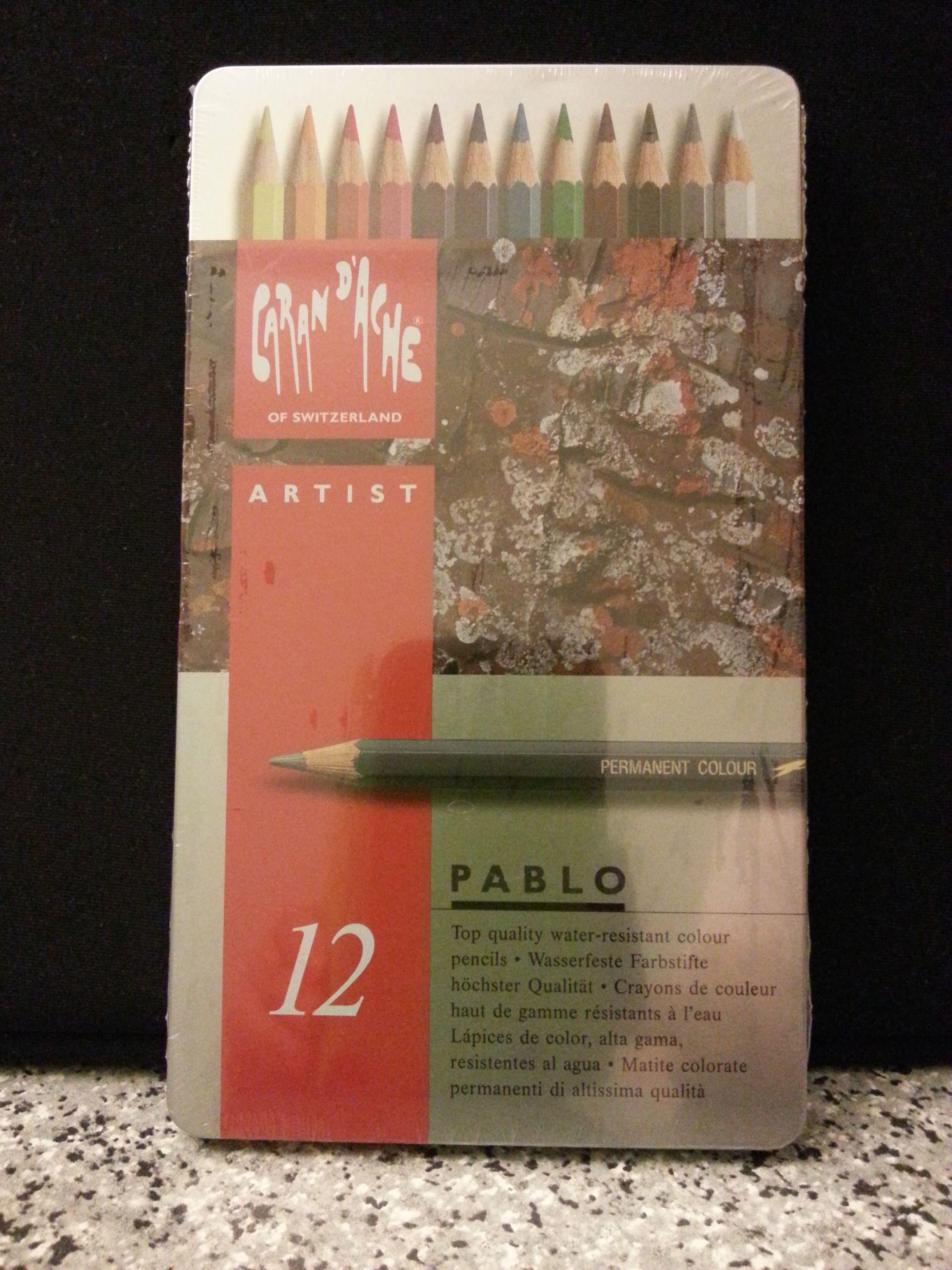 Caran D'ache Pablo Color Pencils Set Of 12, 24.1 USD