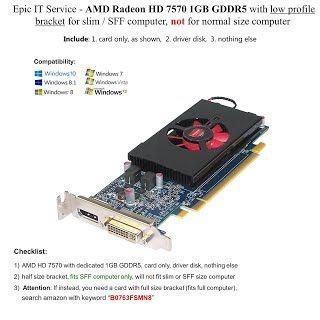 REVIEW  Epic IT Service - AMD radeon HD 7570 1GB 1024MB