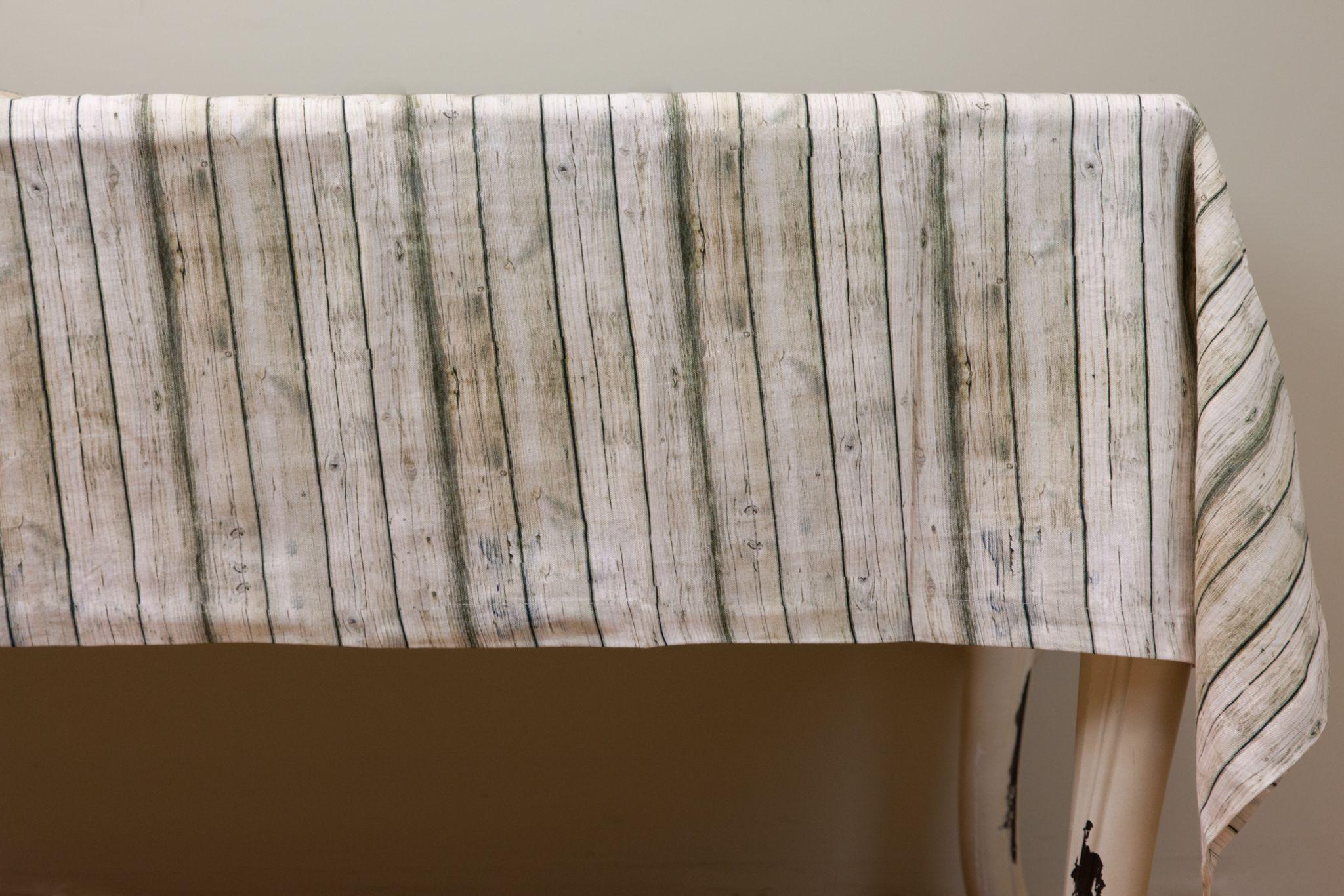 Toalha de Mesa Troncos 140 x 250 cm | A Loja do Gato Preto | #alojadogatopreto | #shoponline | referência 26865750