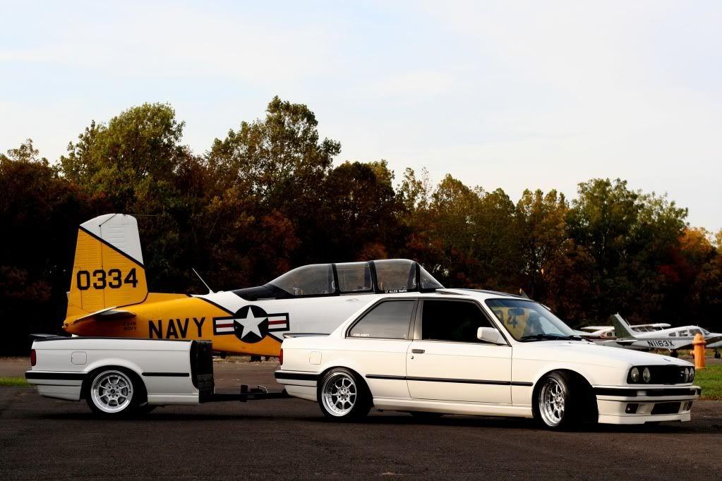BMW E30 trailer