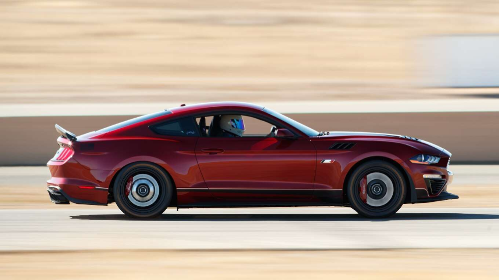 Review The 775 Hp Roush Mustang Is More Powerful Than A Shelby Gt500 But Is It Better Shelby Gt500 Ford Mustang Roush Mustang