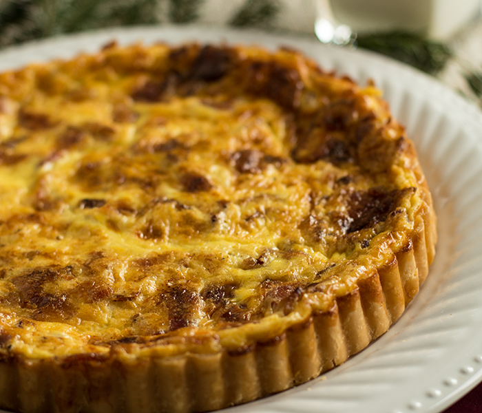 Quiche Lorraine Recipe Buttermilk Recipes Quiche Lorraine Crispy Bacon
