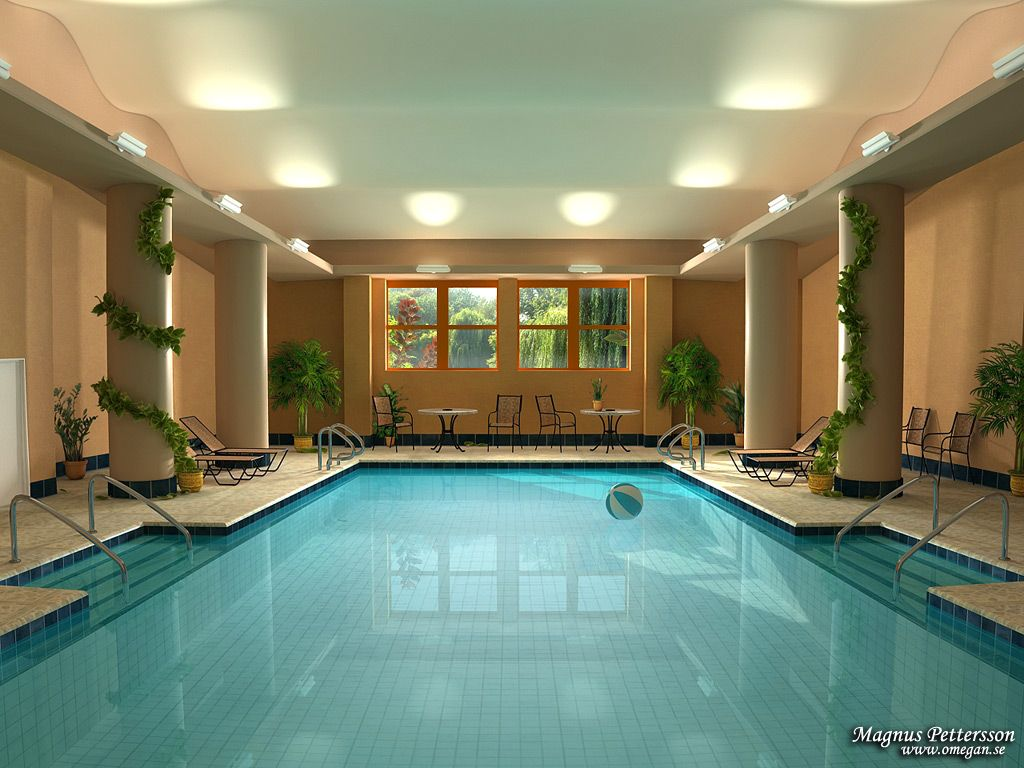 indoor swimming pool with extraordinary design ideas - Indoor House Pools