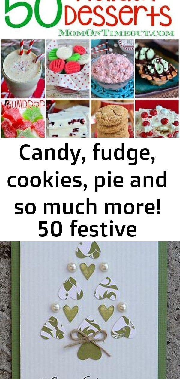 Süßigkeiten, Fudge, Kekse, Kuchen und vieles mehr! 50 festliche Festtagsdesserts pünktlich zu Weihnachten 4   – Noel