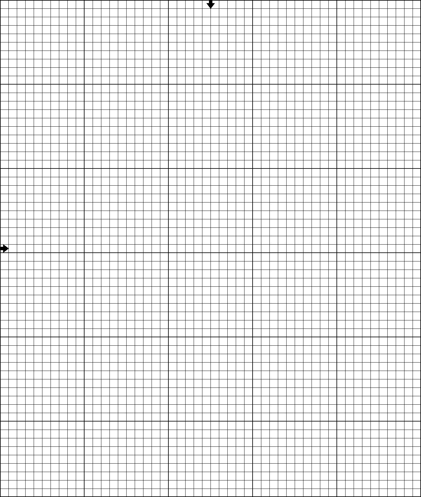 blank grid chart – Blank Grid Chart