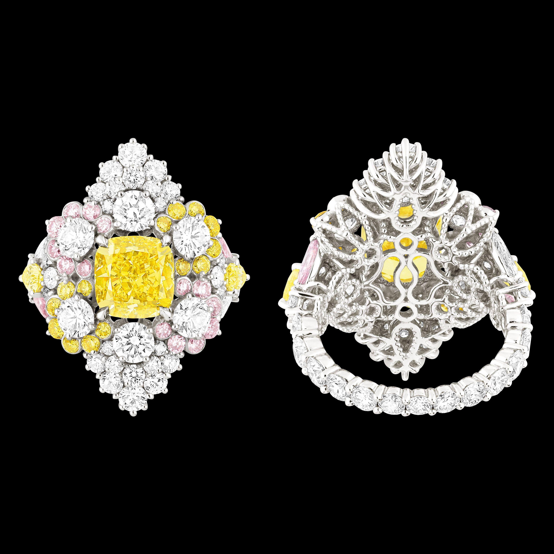 """Cher Dior - """"Etincelante Diamant Jaune"""" ring. Discover more on www.dior.com"""