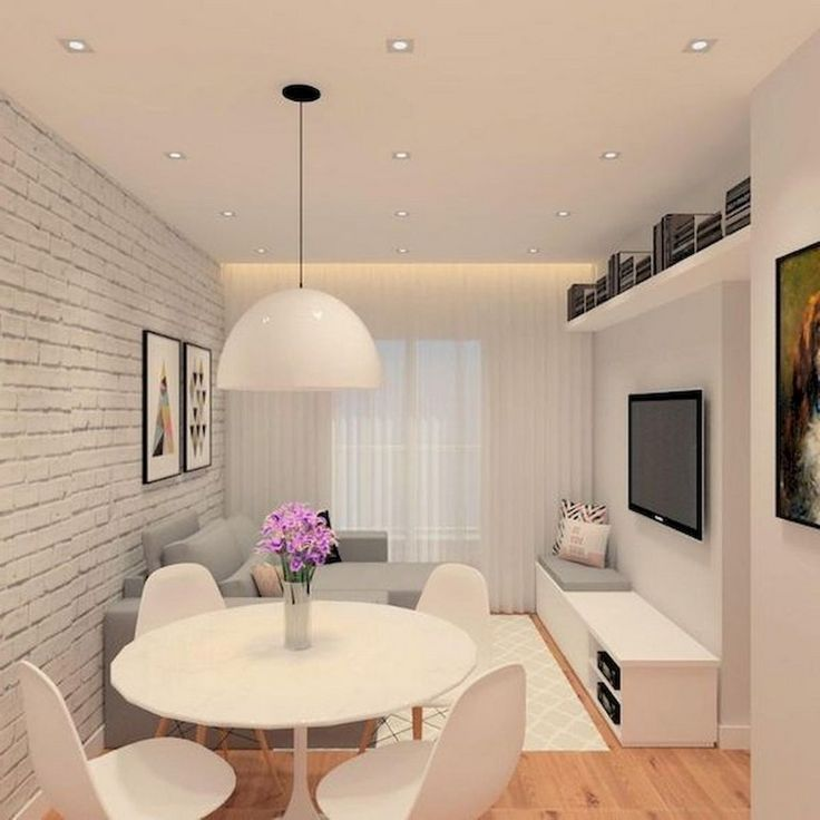 A Dining Room Design He Will Surely Love Small living