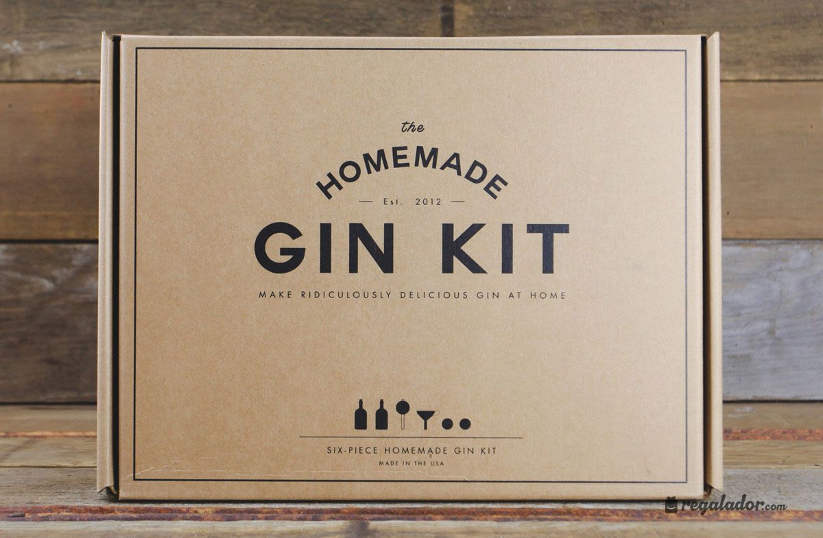 Kit para preparar tu propia ginebra