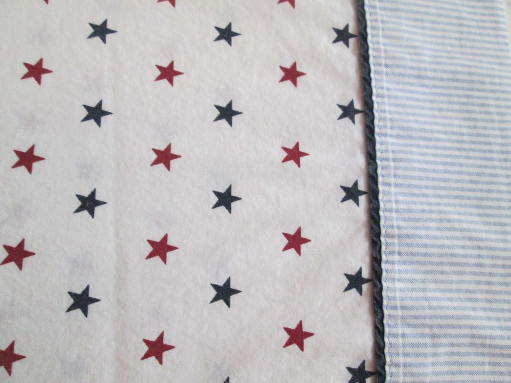 Standard Pillowcase ~ Tommy Hilfiger STARS & Ticking Stipes ~ Single Cases Shams #TommyHilfiger #Contemporary