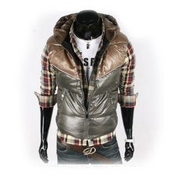 Hot Sale Warm and Comfortable Hooded Cotton Waistcoat For Male China Wholesale - Sammydress.com