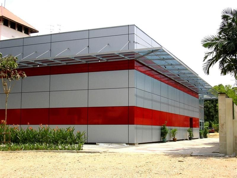Aluminium Composite Panel Designs Google Material Pinterest Cladding External